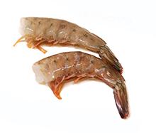 琥珀色の天然エビ 無頭メキシコブラウン海老(殻付き)